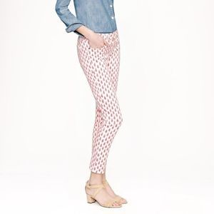 J. Crew Cropped Matchstick Jeans | Floral Print 24